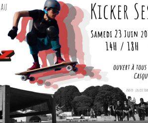Kicker Session #3 – Samedi 23 juin 2018