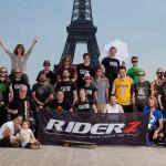 L'équipe Riderz à la Paris Slalom World Cup 2012