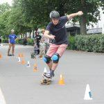 21 Juin 2020 - Cyber slalom skateboard Paris Nation Dimitri