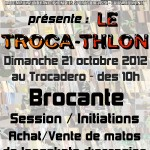 1er Trocathlon RiderZ - Dimanche 21 Octobre 2012
