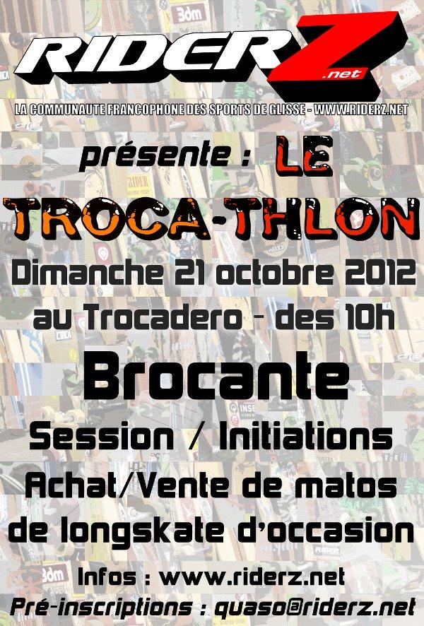 1er Trocathlon RiderZ – Dimanche 21 Octobre 2012