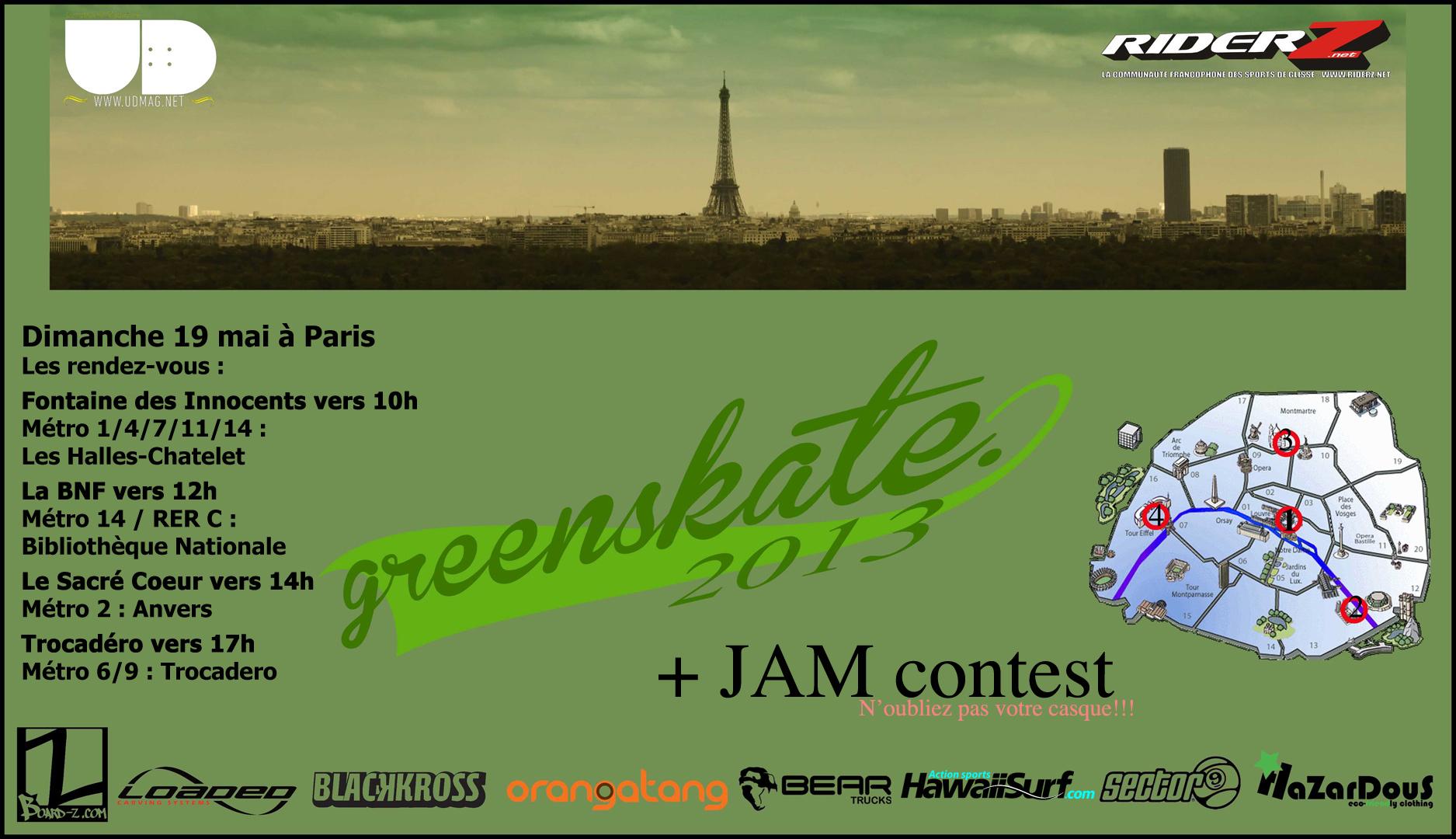 Greenskate 2013 Flyer