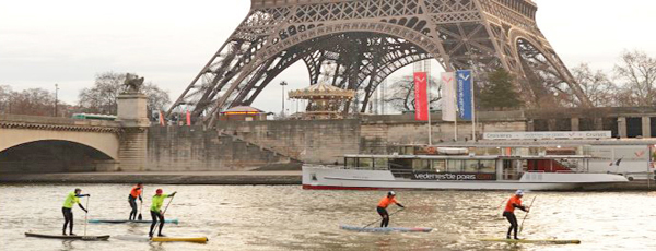La Nautic SUP Paris Crossing avec Riderz !