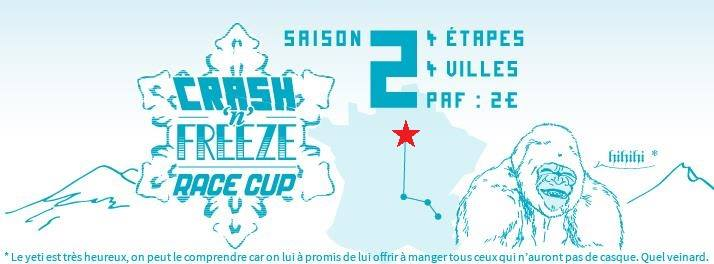 Crash'n'Freeze Race Cup 2/4 – 12 janvier 2014 – Orsay