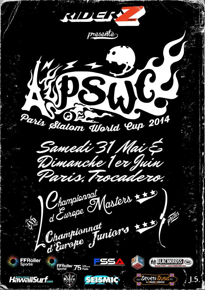 Paris Slalom World Cup 2014, 31 mai 1er juin 2014