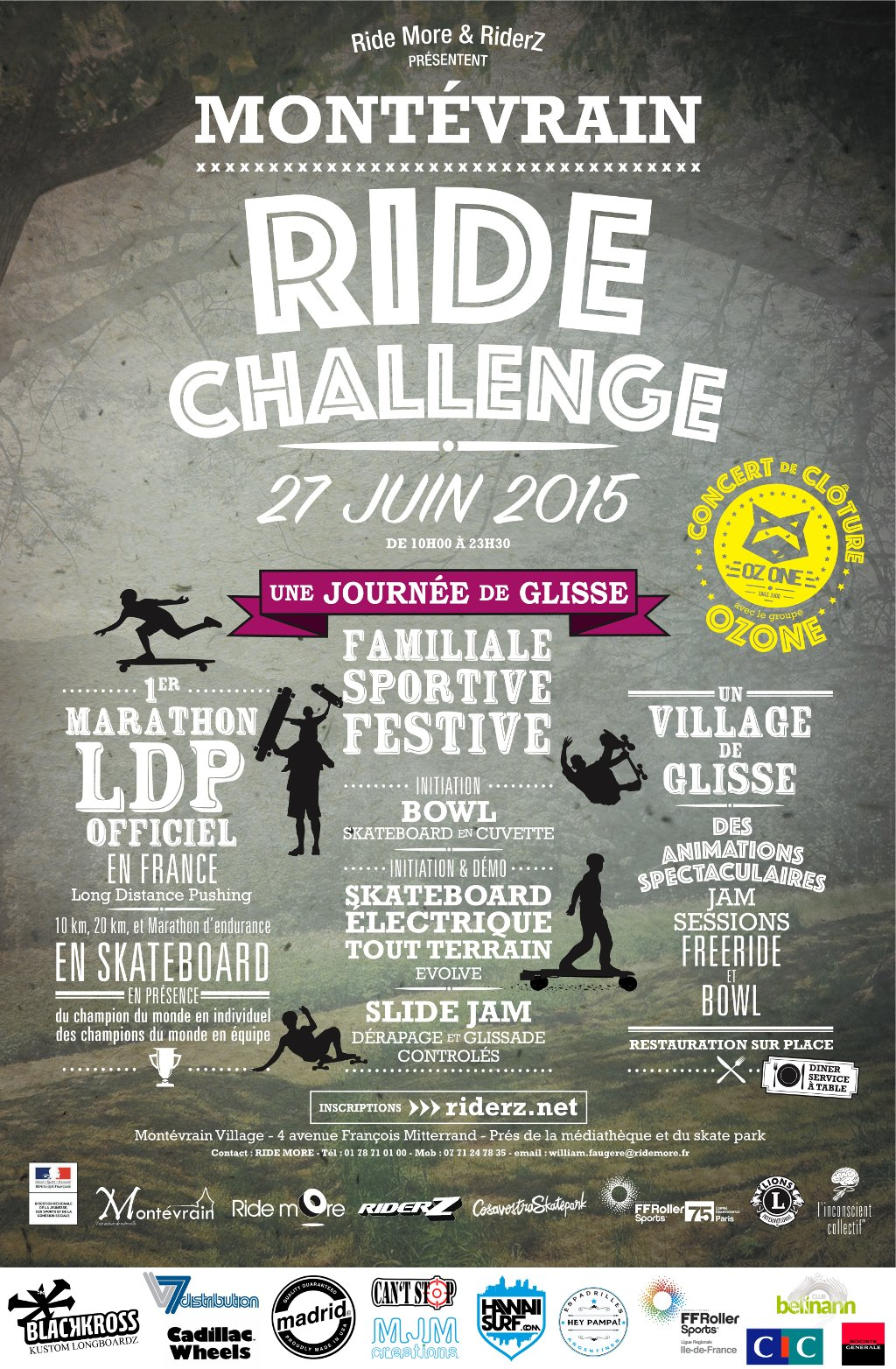 Montévrain Ride Challenge 2015 : infos and registration (english version)