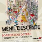 Boardercross Ménil'Descente - Affiche 2015