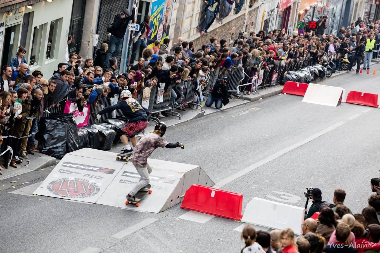 Boardercross Ménilmontant Yves Alain Enndewell