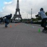Course Pirate slalom skateboard trocadero 18 octobre 2015
