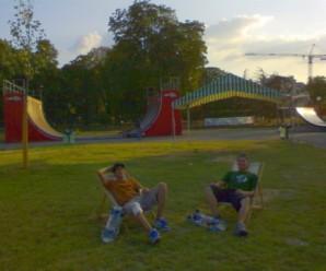 Paris Slide, skatepark estival