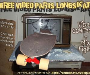 Soirée Vidéo Paris Longskate #1 – 14 javier 2006