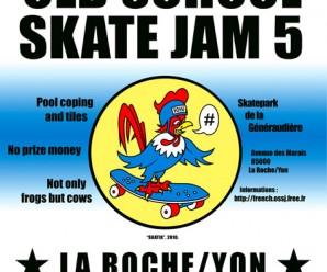 French Old School Skate Jam 5 à La Roche Sur Yon (10-11 juillet 2010)