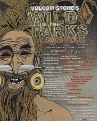 Wild In The Parks 2008 Tour. Samedi 13 au CosaNostra Skatpark