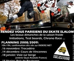 Le progamme Pirate Slalom 2008/2009 – Finale le 12 Avril !