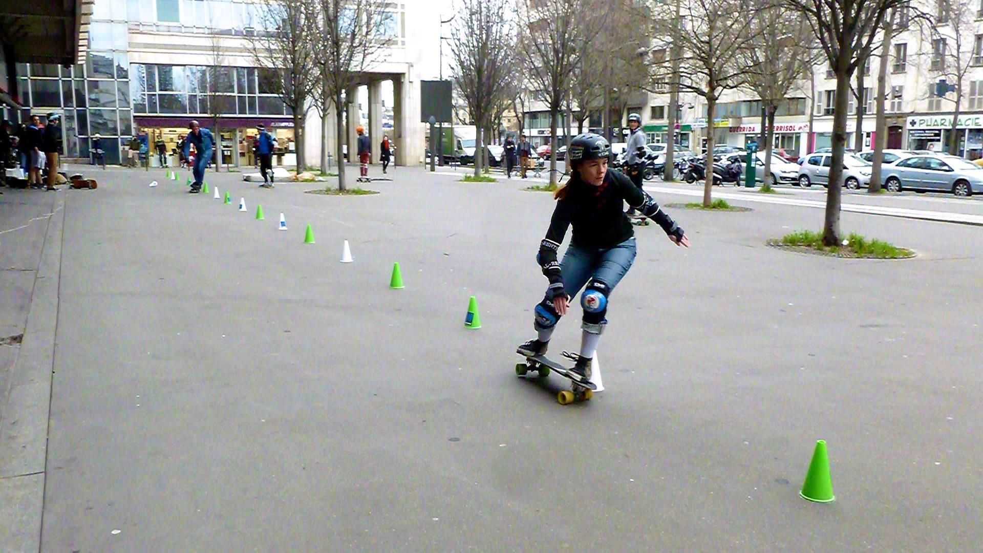 Erika Pirate Slalom Skate Italie 2