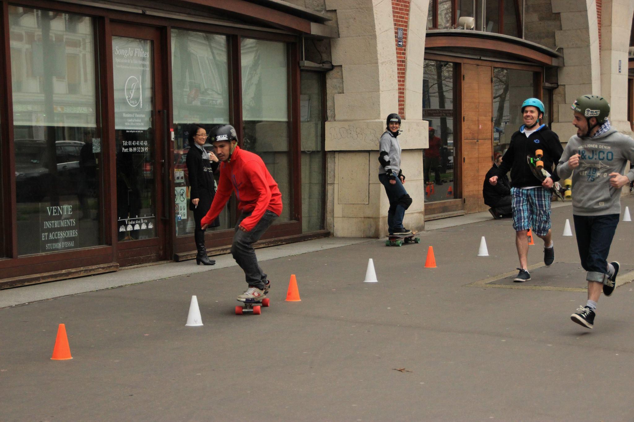 Vincent - Pirate Slalom Skateboard Riderz Paris 12