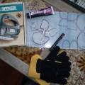 Fabrication de gants de slide