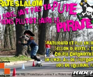 Pirate Slalom #5 – Dimanche 4 mars au Bois de Boulogne