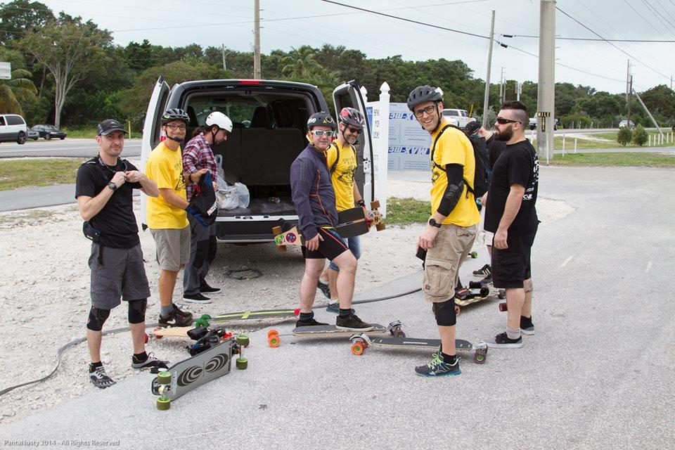 Training à Miami pour la team Ride more