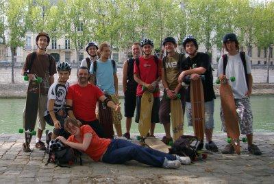 Super Session Riderz - Rando Longskate Paris