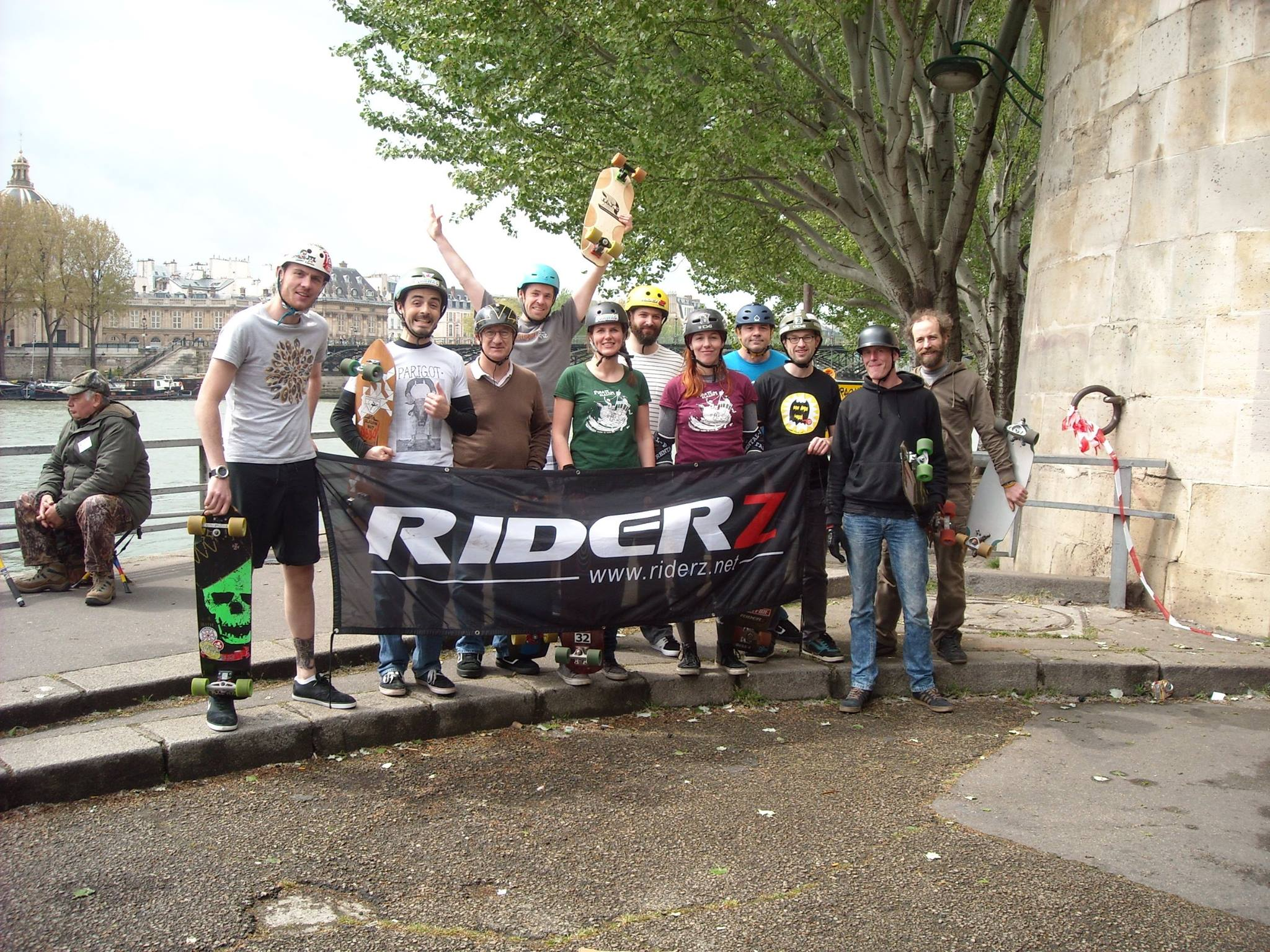 Pirate Slalom Riderz 2016 - 5 - Voies sur berge - Paris