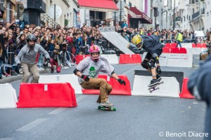 Menildescente boardercross skateboard paris 2015 - Photo Benoit Diacre