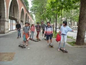 Riderz Randonnée skateboard à Paris - 2016 #1