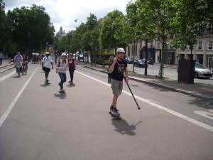 randonnée skateboard Paris du 26 juin 2016