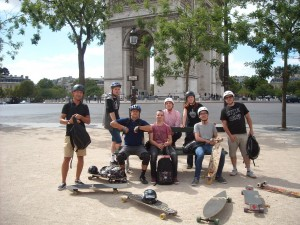 Rando longboard skate Paris - Riderz