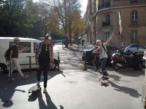 Randonnée skateboard paris par Riderz