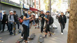 rando longboard skate à Paris avec Riderz