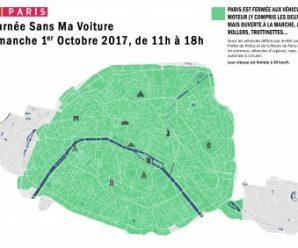 Ménil'Descente et Journée sans voiture à Paris 2017