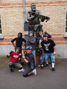 Rando en skate à Paris le 26 mai 2019