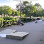 Skatepark de Paris Nation, à Cours de Vincennes
