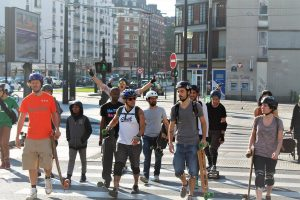Super session riderz skate longboard paris