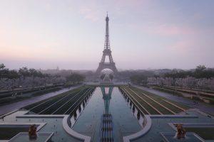 Projet Tour Eiffel, le Trocadéro